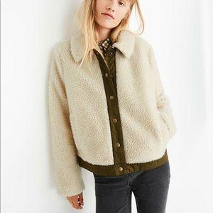 Madewell Sherpa Jacket